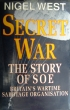 Book cover for Secret War: The Story of SOE